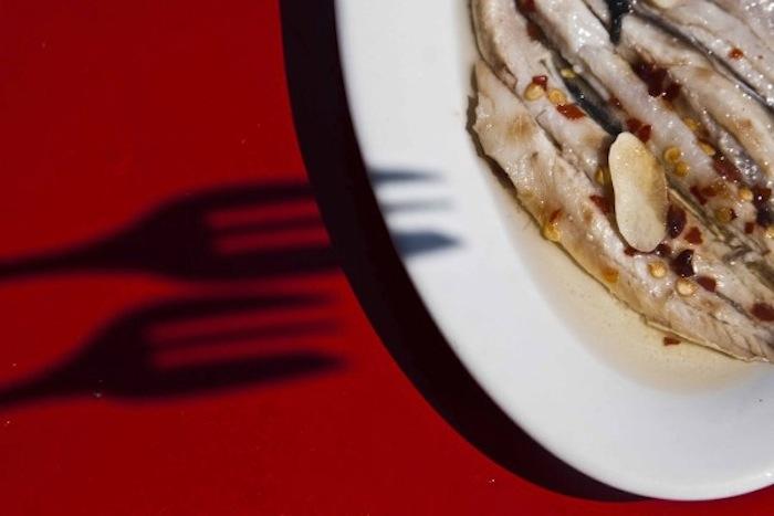 frisses sardelles marinates