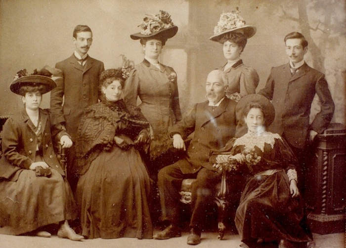 Caruso οικογένεια 1910