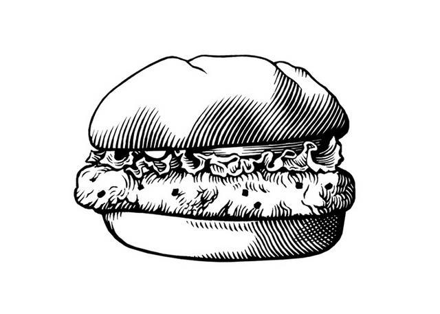 gourmet burger me porcini