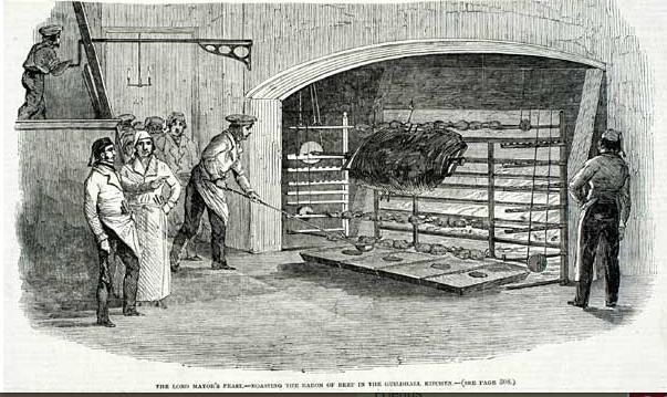beef roasting