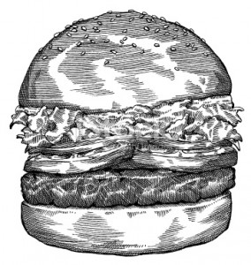 hamburger-drawing