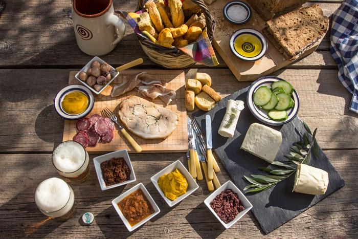 Ιδέες για κρύο μπουφέ, σάντουιτς και καναπεδάκια