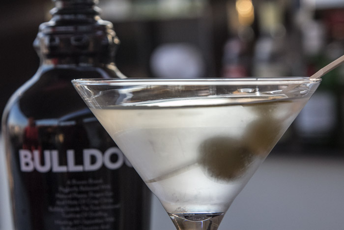 BULLDOG LONDON DRY GIN MARTINI