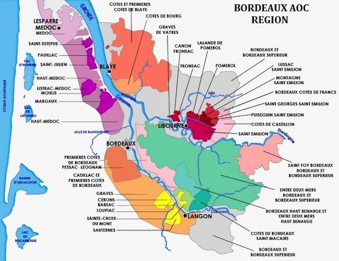 τα κρασια του bordeaux