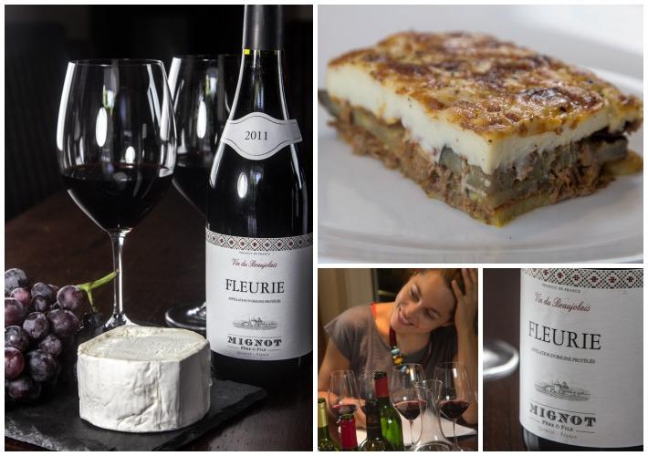 Γευστική δοκιμή Γαλλικών Κρασιών LIDL- FLEURIE BEAUJOLAIS 1