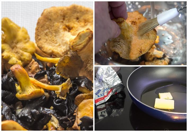 Κριθαρότο με άγρια μανιτάρια 1