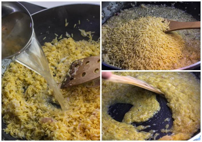 Κριθαρότο με άγρια μανιτάρια 3