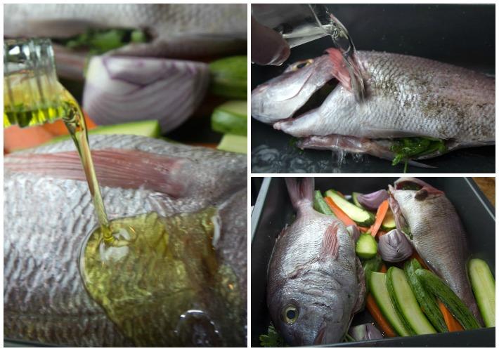 Εϋκολο Ψαρι ψητό στο φούρνο 3