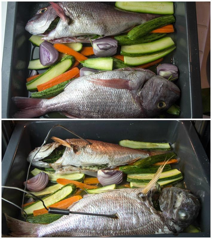 Εύκολο Ψαρι ψητό στο φούρνο 4
