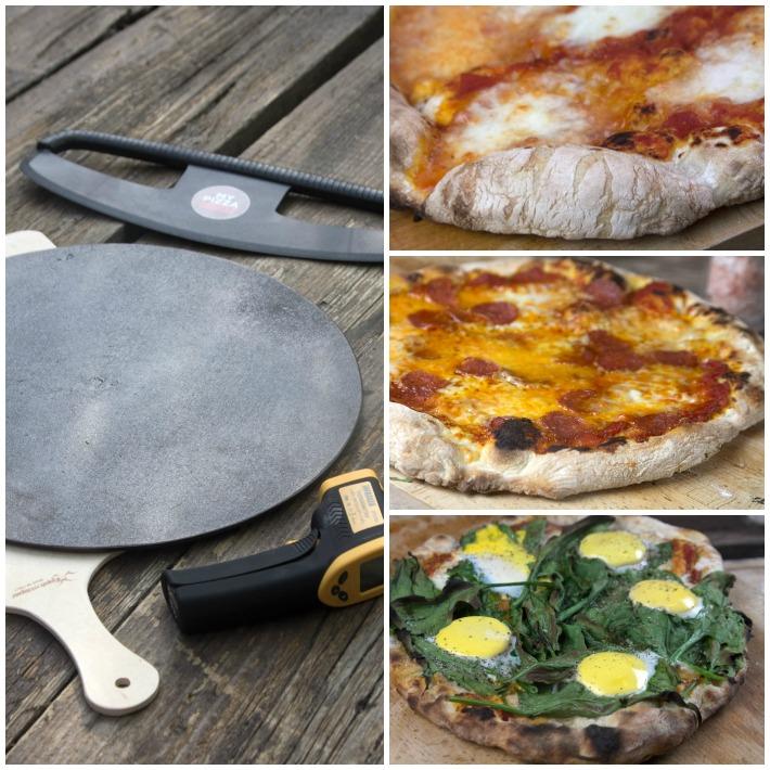 SPITIKI PIZZA 9 σπιτικη ζυμη πιτσας
