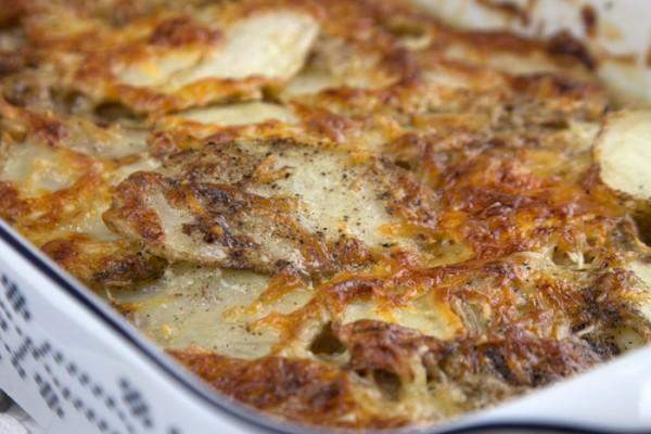 Πατάτες γκρατέν Ντοφινουά
