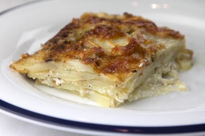 Πατάτες Γκρατέν Ντοφινουά με κρέμα γάλακτος στο φούρνο