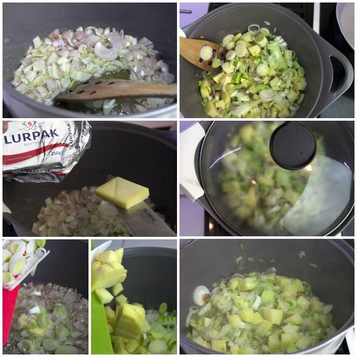 Σούπα μπρόκολου με στιλτον ροκφορ