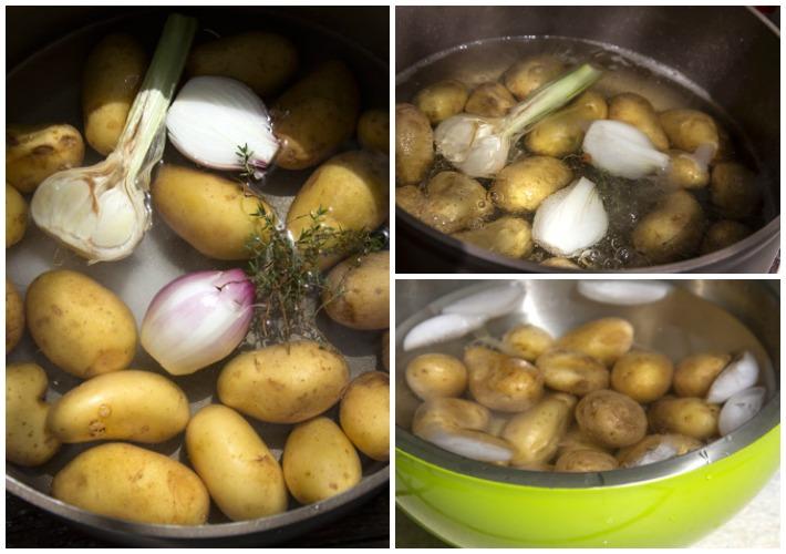 βρασιμο πατατας