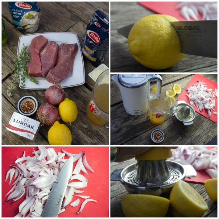 Λεμονάτο - ριγανάτο κρέας