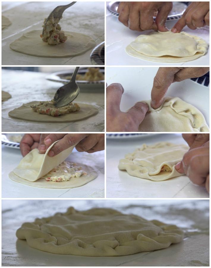 τραγανά πιτάκια τυριων για μεζέ