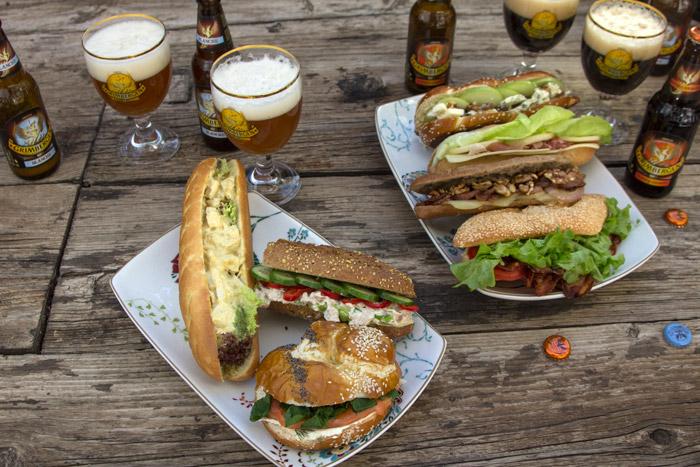 7 εύκολα γκουρμέ σαντουιτς