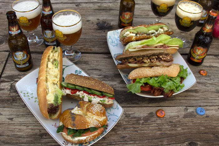 7 gourmet sandwitches