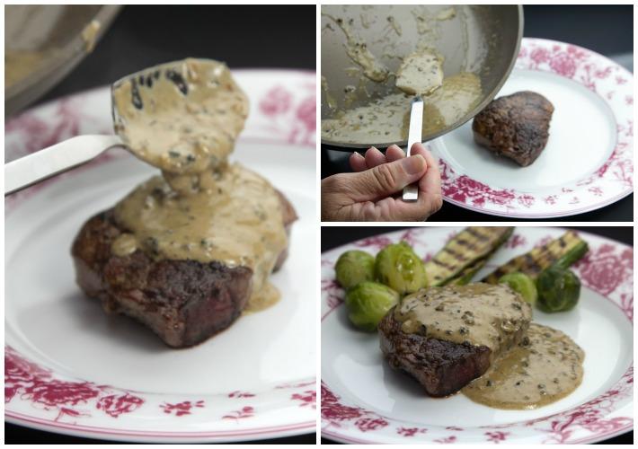 φιλετο πιπερατο steak au poivre