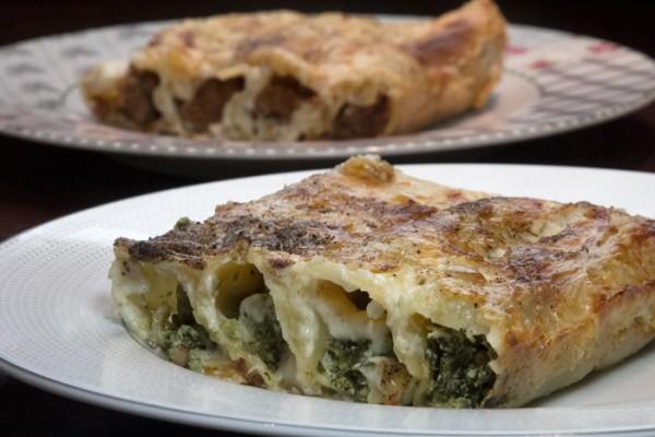 cannelloni bolognese - spinachi - ricotta