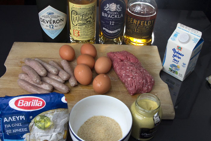 Scotch Eggs & 4 Single Malt Whiskies
