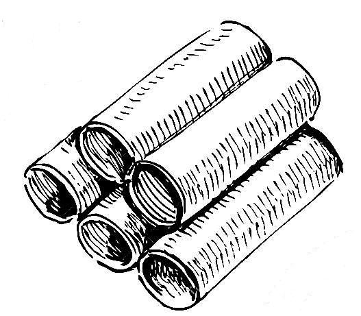 κανελόνι κιμά & σπανάκι ανθότυρο