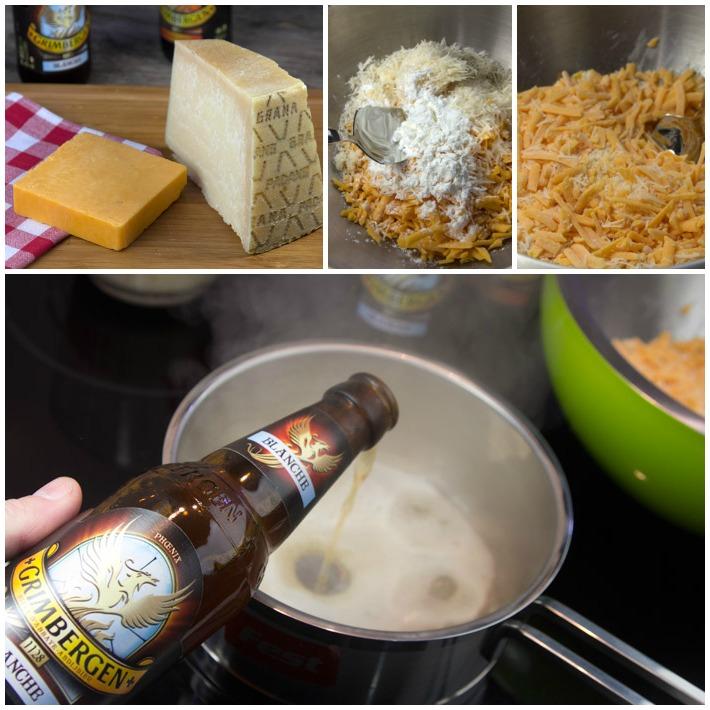 Φοντύ τυριών - ντιπ τυριών