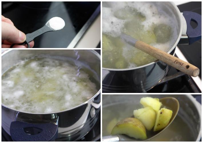 μυστικά τραγανές πατάτες φουρνου