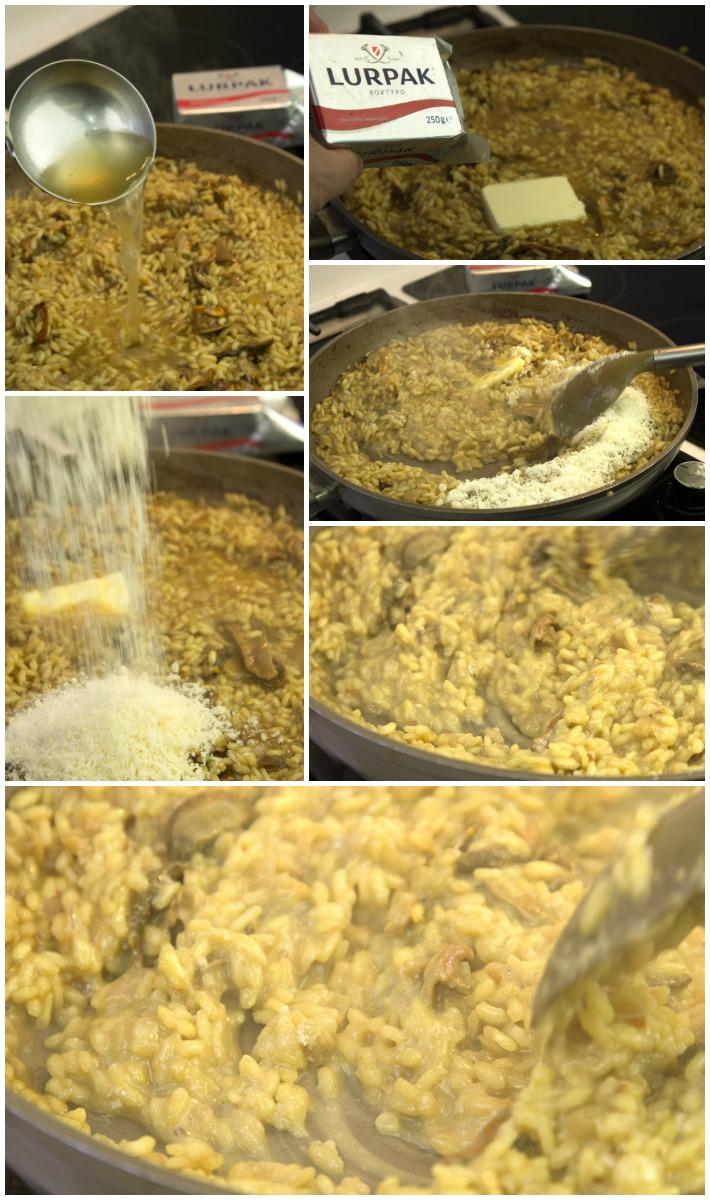 Ιταλικό ριζότο μανιτάρια πορτσίνι