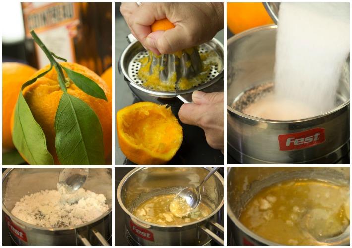 πανακότα πορτοκάλι