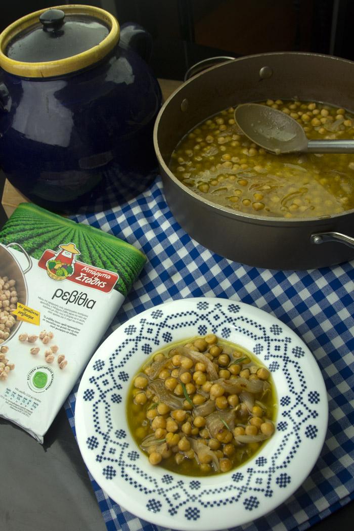 Ρεβίθια σούπα παραδοσιακή