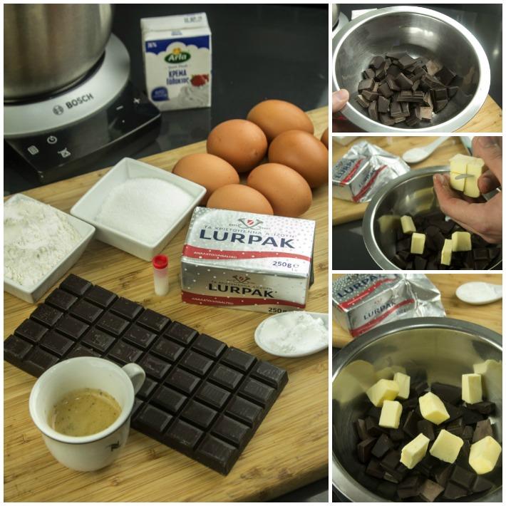 σουφλέ σοκολάτας συνταγή σίγουρη