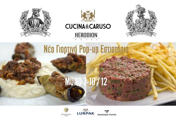 neo po up restaurant Cucina Caruso
