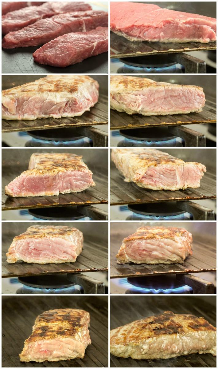 Τι συμβαίνει στο κρέας όταν ψήνεται στο τηγάνι
