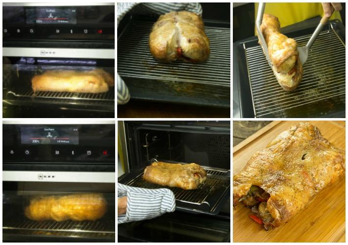 κοτόπουλο ψητό ξεκοκαλισμένο στο φούρνο