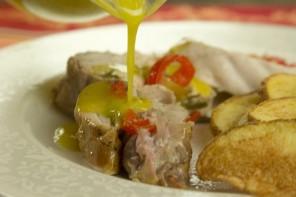 Ζουμερό ψητό λεμονάτο Κοτόπουλο (σε φούρνο ή κάρβουνα) με Νέα Τεχνική