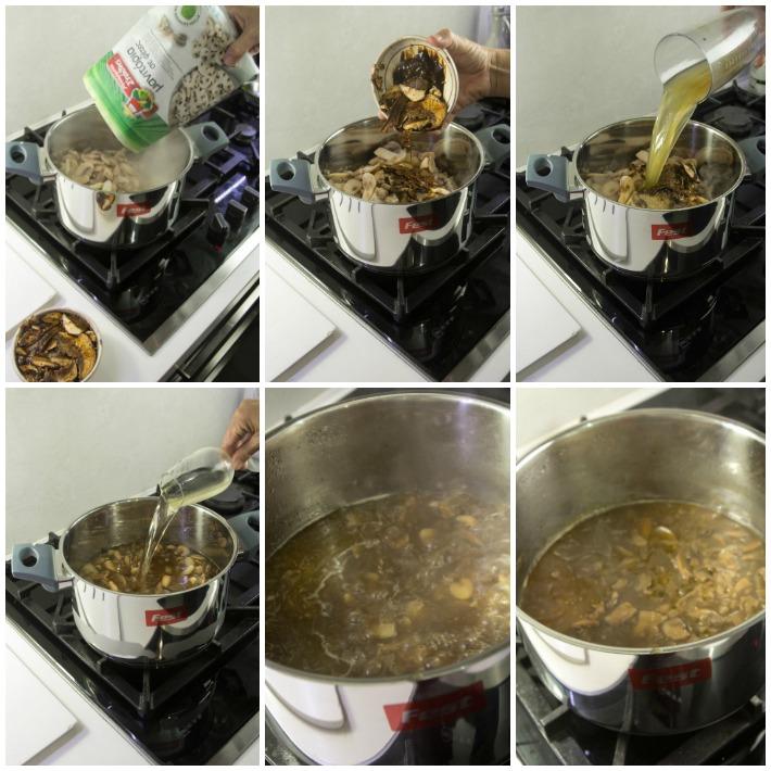 Μανιταρόσουπα εύκολη με πορτσίνι