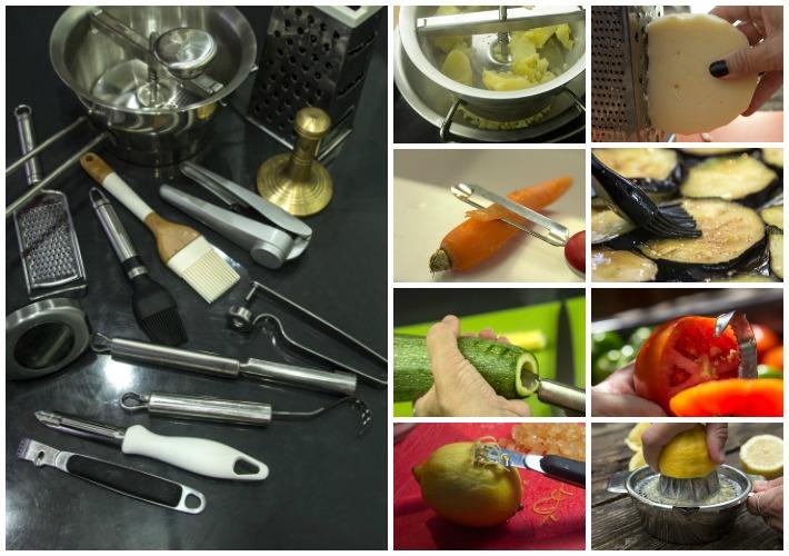 Απαραίτητος εξοπλισμός κουζίνας - ειδικα εργαλεια