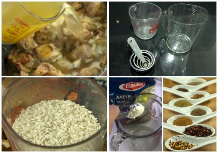 Απαραίτητος εξοπλισμός κουζίνας - Μεζούρες -δοσομετρητές