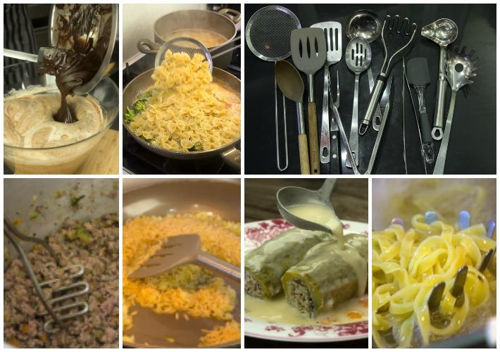 Απαραίτητος εξοπλισμός κουζίνας - κουταλες, σπατουλες