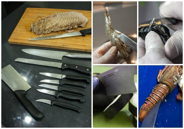Απαραίτητος εξοπλισμός κουζίνας - μαχαίρια