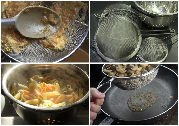Απαραίτητος εξοπλισμός κουζίνας - σουρωτηρια