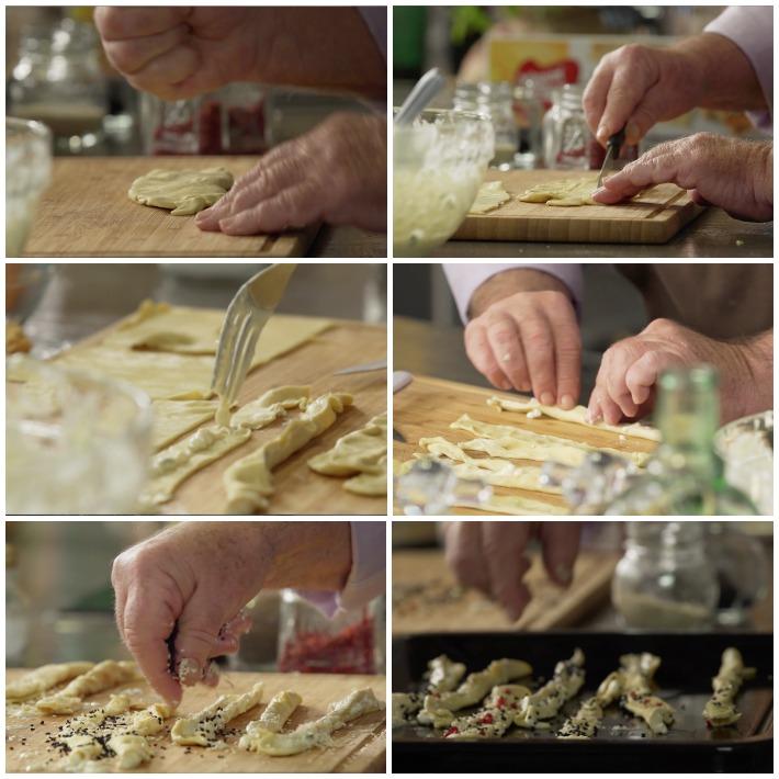 Καλαθακια τυριών Κύθνου & τυροκριτσινάκια