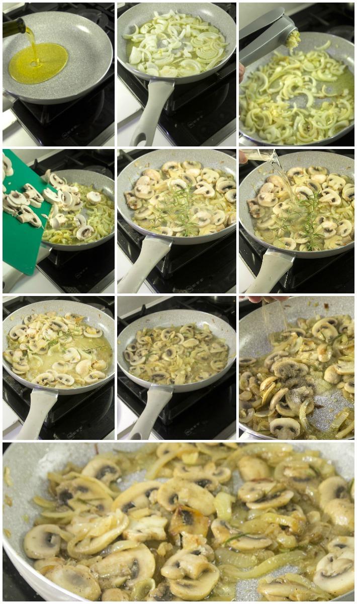 Ζυμαρικά από ρεβίθι με μανιτάρια και κάσιους