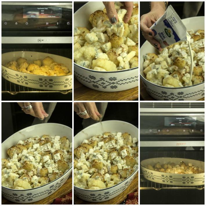 Κουνουπίδι φούρνου με τυρια ο γρατέν