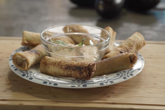 Μπουρεκάκια μουσακά με μελιτζάνα & κιμά