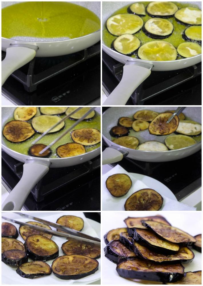 μακαρονάδα με μελιτζάνες ντομάτα αλα Νορμα