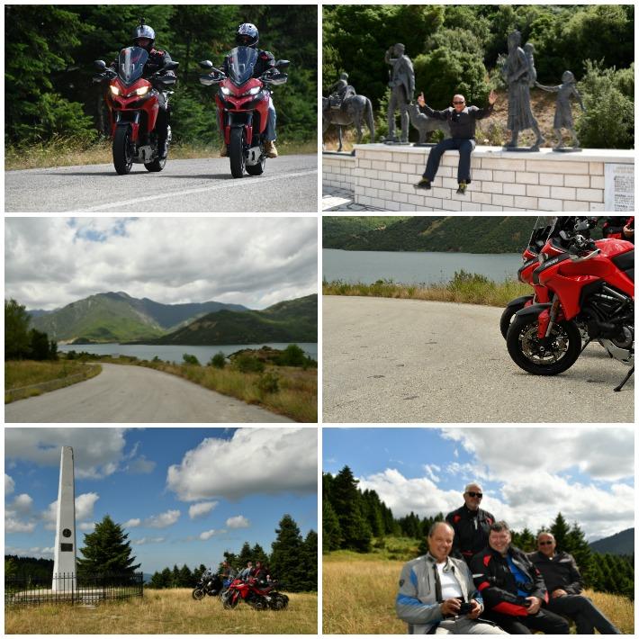 road trip στη Πίνδο με Ducati  σχεδια