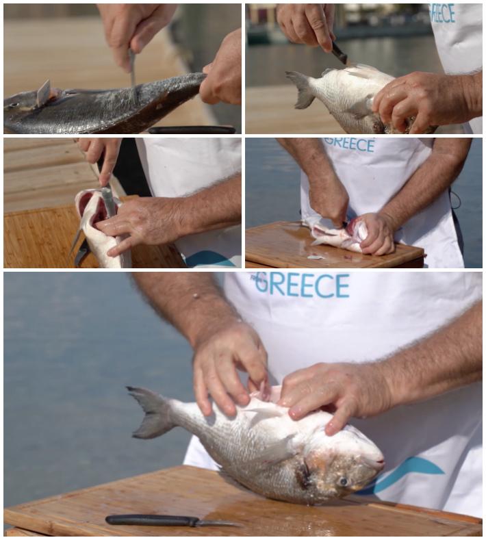 Μυστικά του Ψαριού : Πως καθαρίζουμε ένα ψάρι