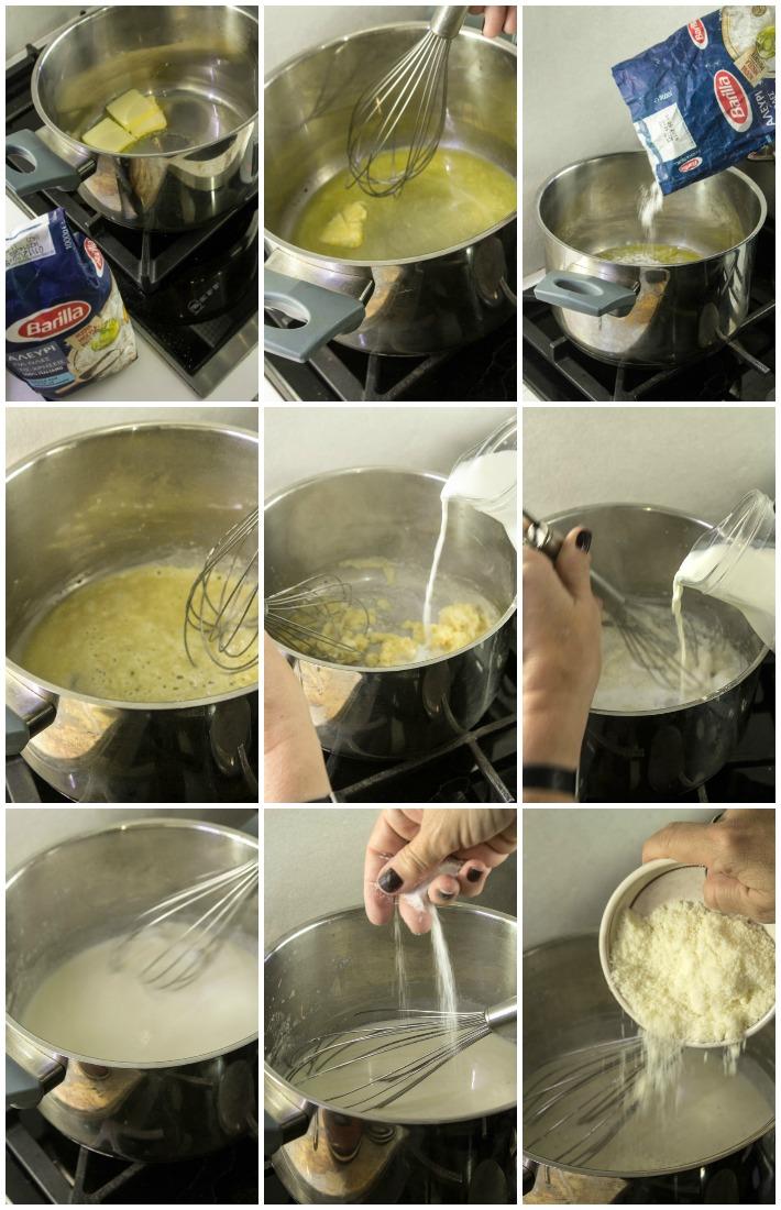 Λαζάνια μανιτάρια πορτσίνι